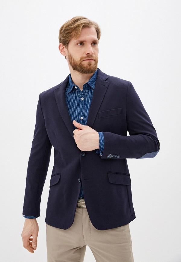 Cortefiel | Мужской синий пиджак Cortefiel | Clouty