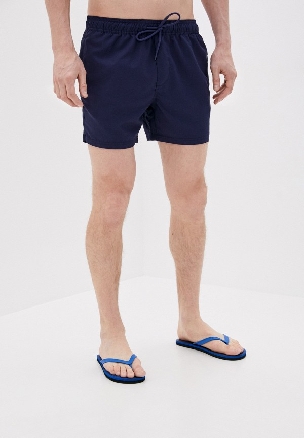 Cotton On   синий Мужские летние синие шорты для плавания Cotton On   Clouty