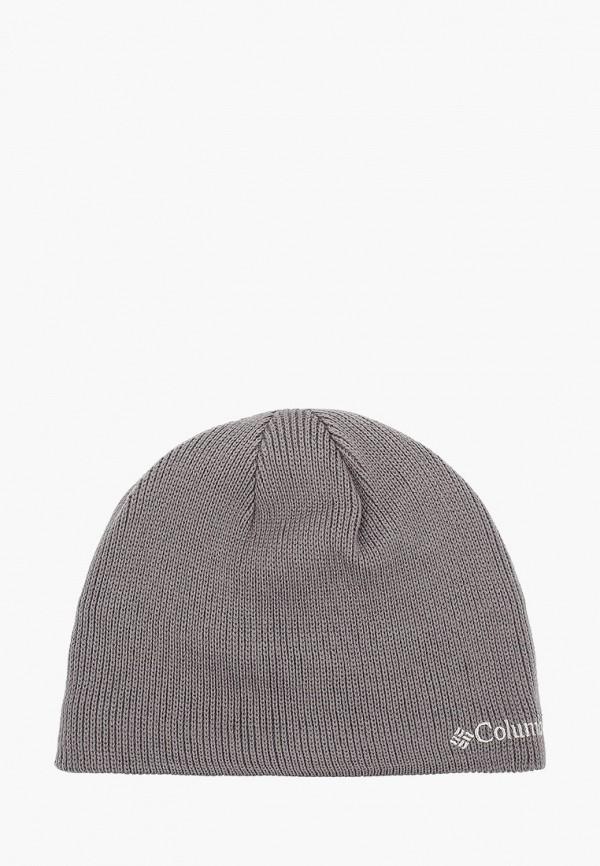 Columbia | серый Зимняя серая шапка Columbia | Clouty