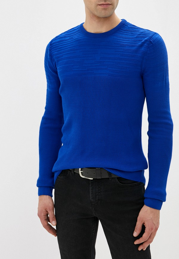 Dali | Мужской синий джемпер Dali | Clouty