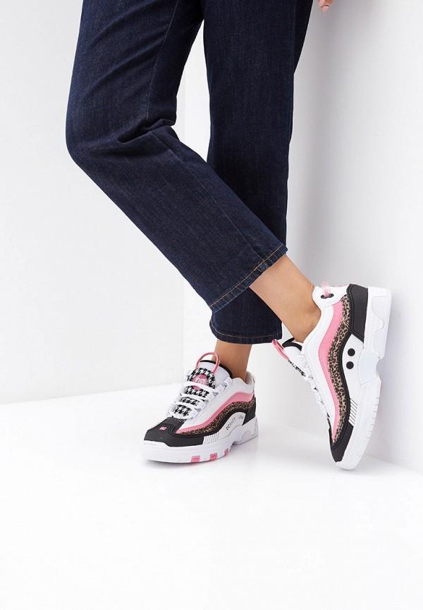 DC Shoes   мультиколор Женские кроссовки DC Shoes резина   Clouty