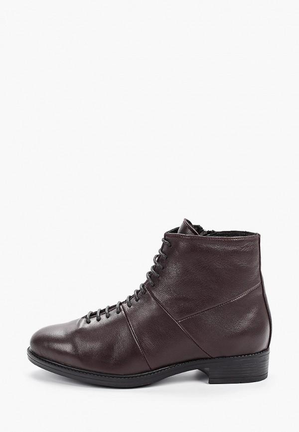 Der Spur | бордовый Женские бордовые ботинки Der Spur резина | Clouty