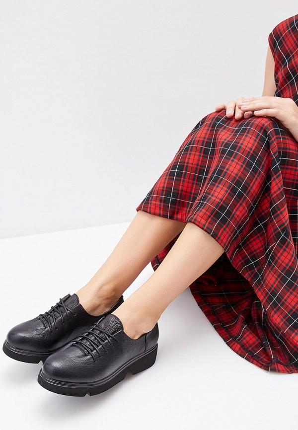 Der Spur | черный Женские черные ботинки Der Spur искусственный материал | Clouty