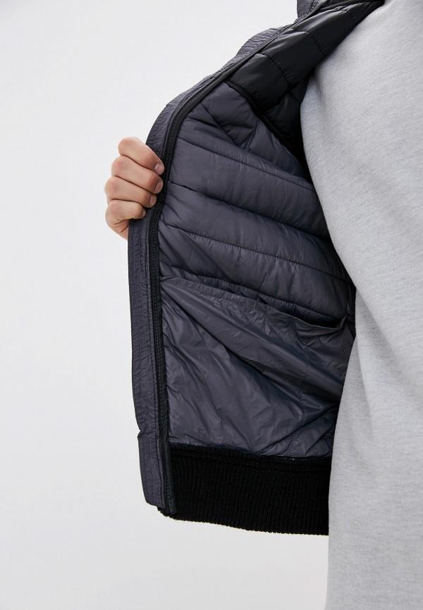 Dissident | серый Мужская серая утепленная куртка Dissident | Clouty