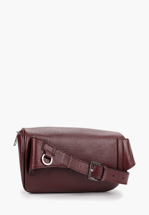 Dimanche   бордовый Бордовая поясная сумка Dimanche   Clouty