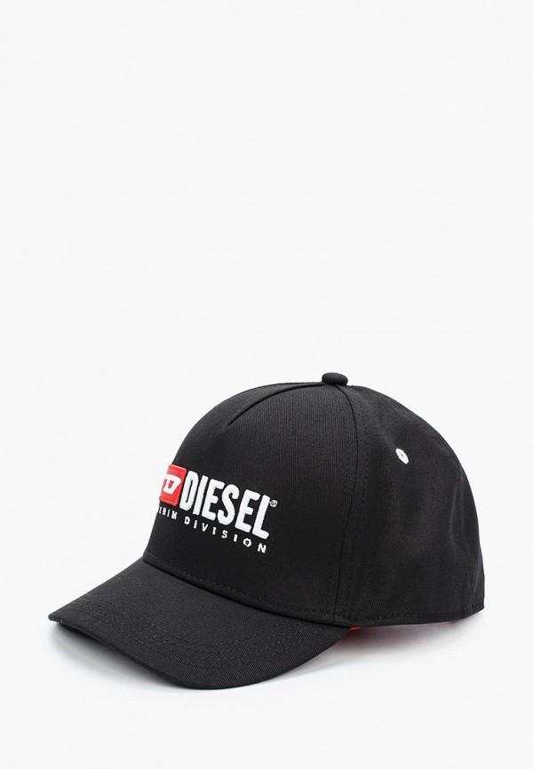 DIESEL | черный Черная бейсболка DIESEL для младенцев | Clouty
