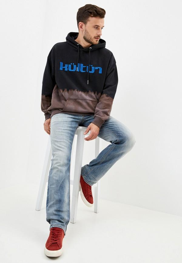 DIESEL | голубой Мужские голубые джинсы DIESEL | Clouty