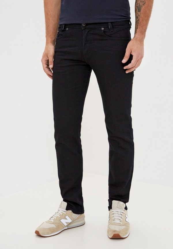 DIESEL | черный Мужские черные джинсы DIESEL | Clouty