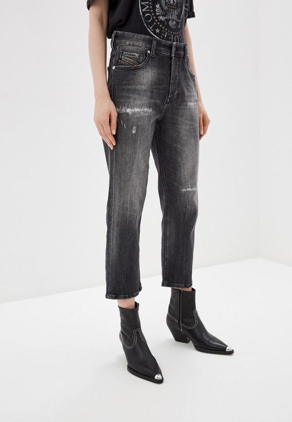 DIESEL | серый Женские серые джинсы DIESEL | Clouty