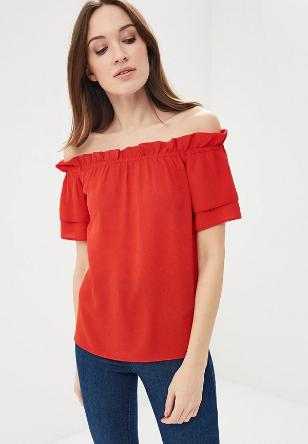 Dorothy Perkins   красный Блуза   Clouty