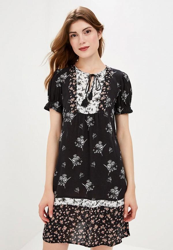 Dorothy Perkins | черный Летнее черное платье Dorothy Perkins | Clouty