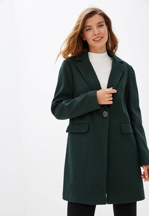 Dorothy Perkins   зеленый Женское зеленое пальто Dorothy Perkins   Clouty