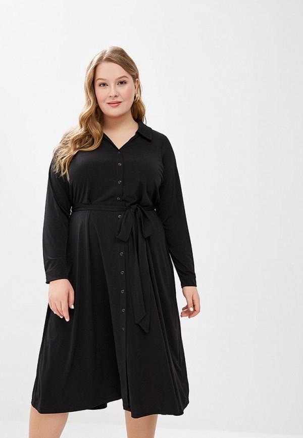 Dorothy Perkins Curve | черный Черное платье Dorothy Perkins Curve | Clouty