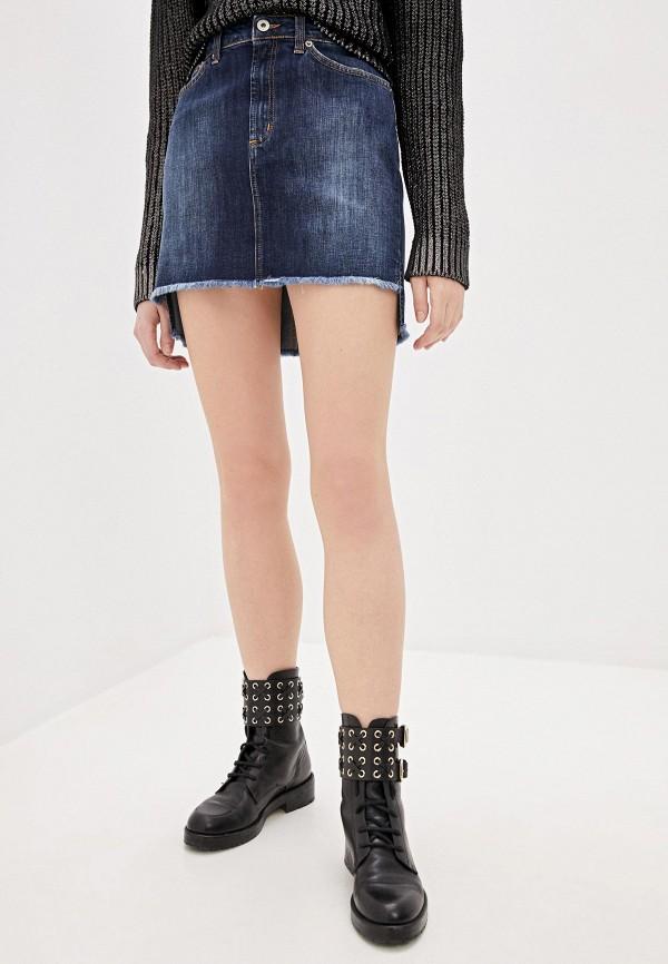 Dondup | синий Синяя джинсовая юбка Dondup | Clouty
