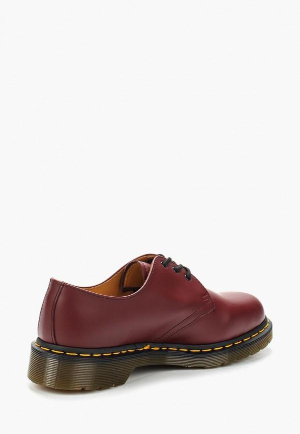 Dr. Martens   бордовый Бордовые ботинки Dr. Martens искусственный материал   Clouty