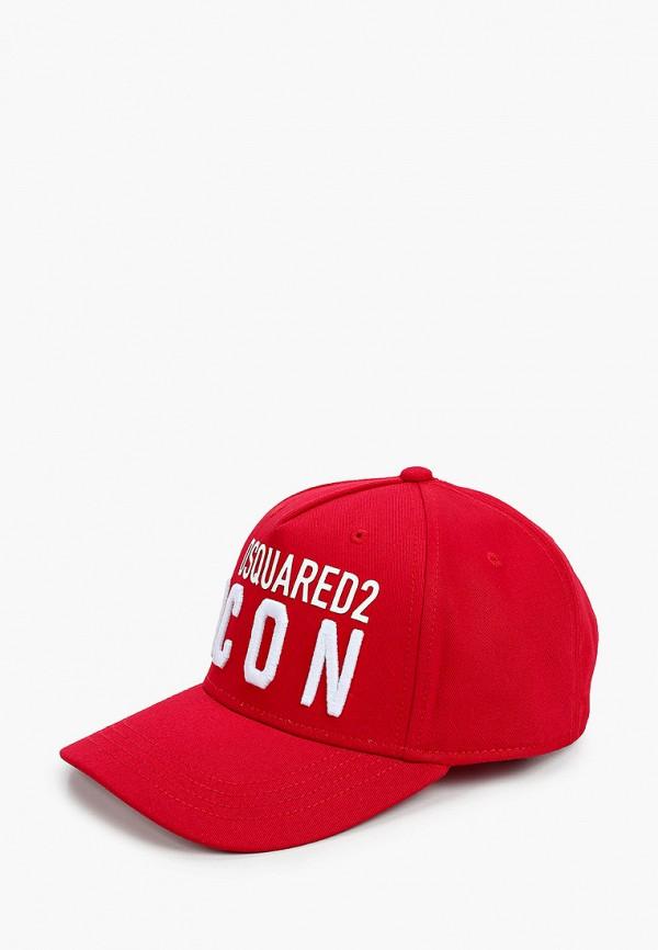 DSQUARED2 | красный Красная бейсболка DSQUARED2 для мальчиков | Clouty