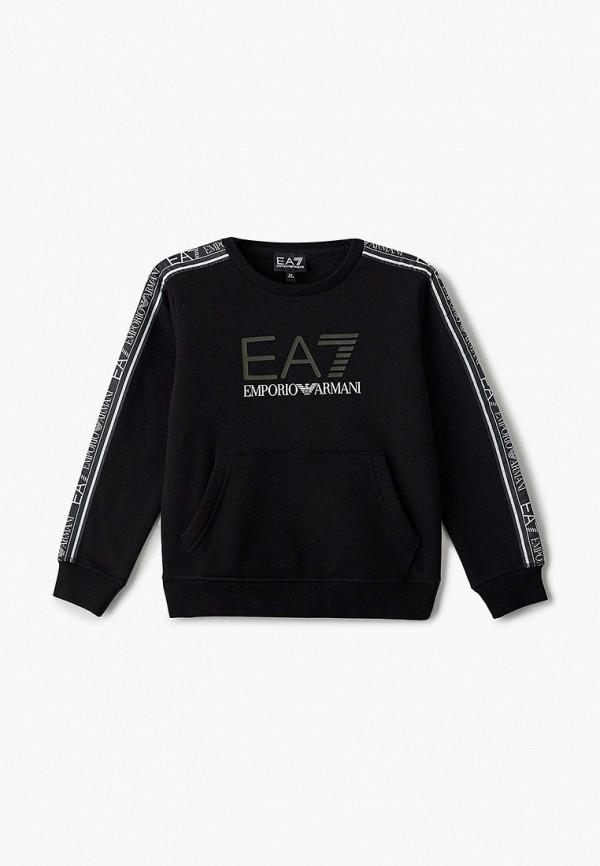 EA7 Emporio Armani | черный Свитшот EA7 | Clouty
