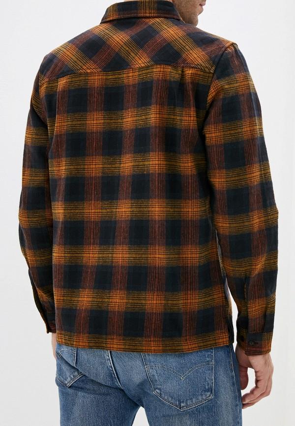 Element | коричневый Мужская коричневая рубашка Element | Clouty