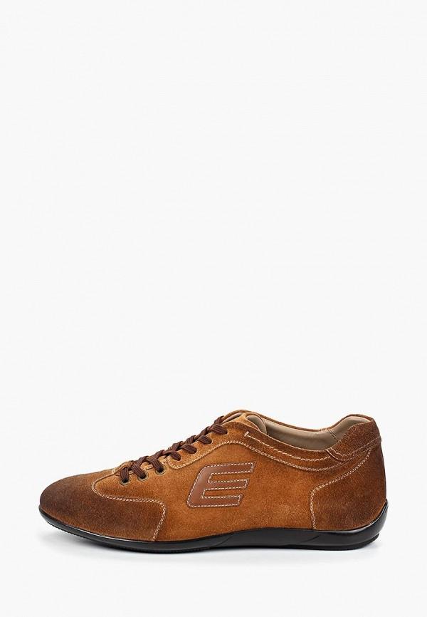 El'Rosso   коричневый Мужские коричневые кроссовки El'Rosso искусственный материал   Clouty