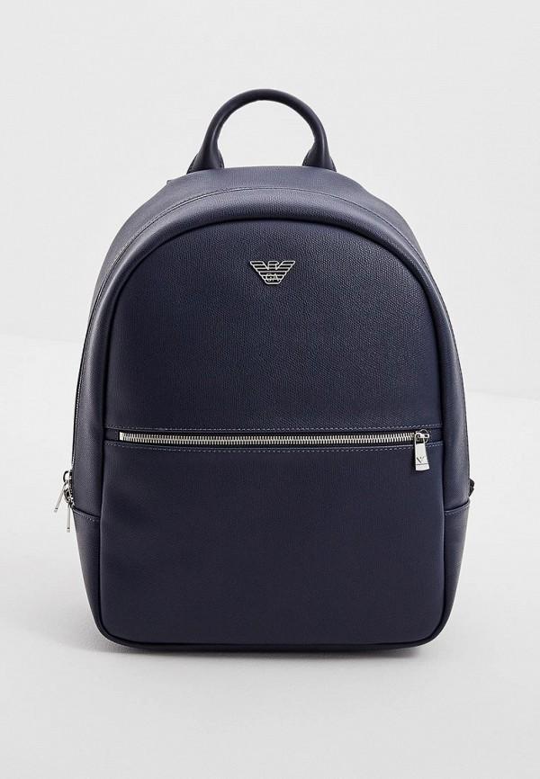 Emporio Armani | Мужской синий рюкзак Emporio Armani | Clouty