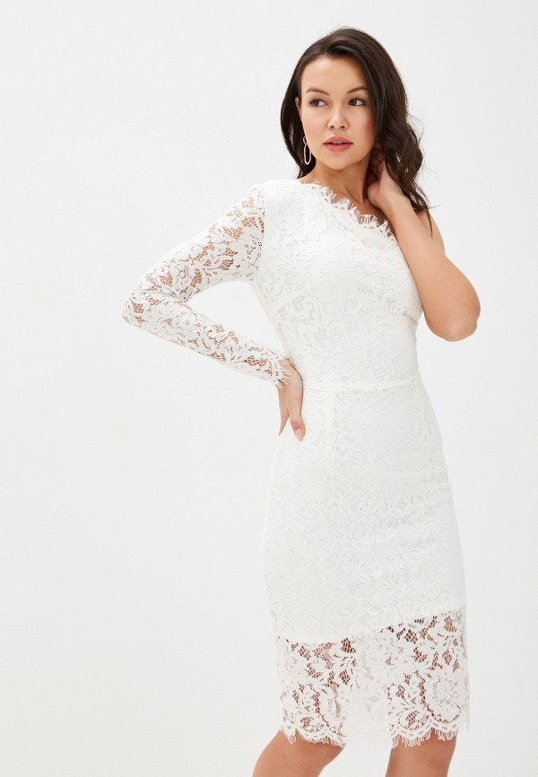 Euros Style   белый Белое платье Euros Style   Clouty