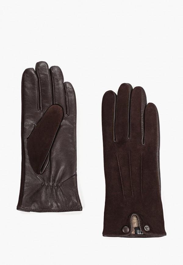 Fabretti | коричневый Перчатки Fabretti | Clouty