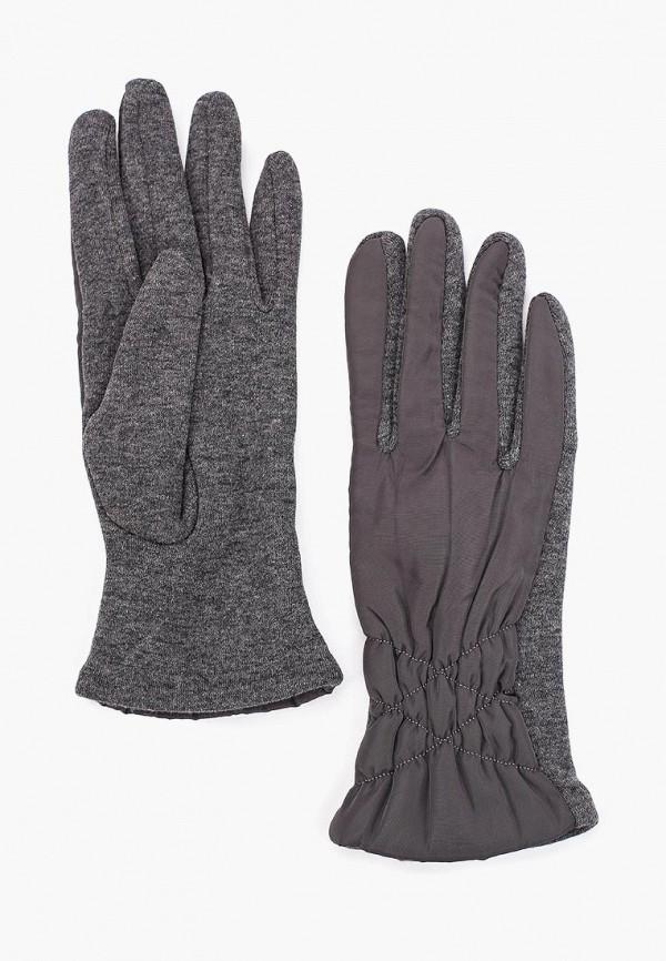 Fabretti | серый Перчатки Fabretti | Clouty