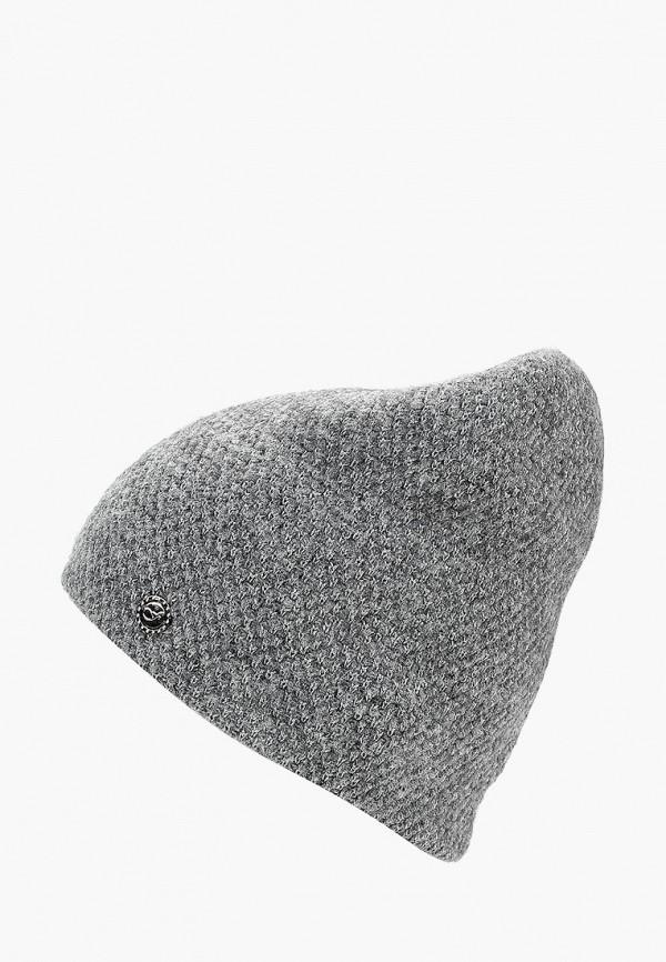 Ferz   серый Женская серая шапка Ferz   Clouty