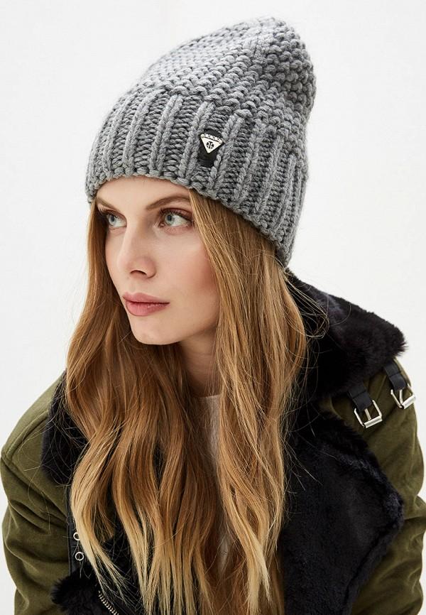Ferz | серый Женская зимняя серая шапка Ferz | Clouty