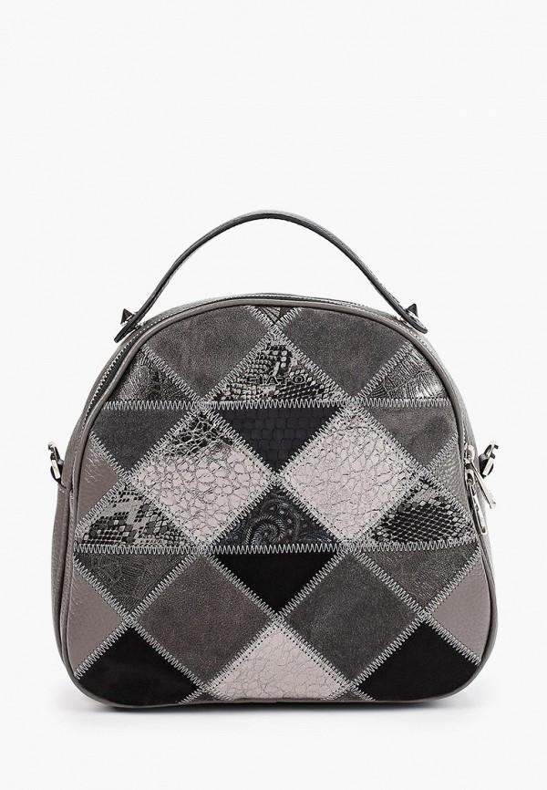 Fiato | Женский серый рюкзак Fiato | Clouty