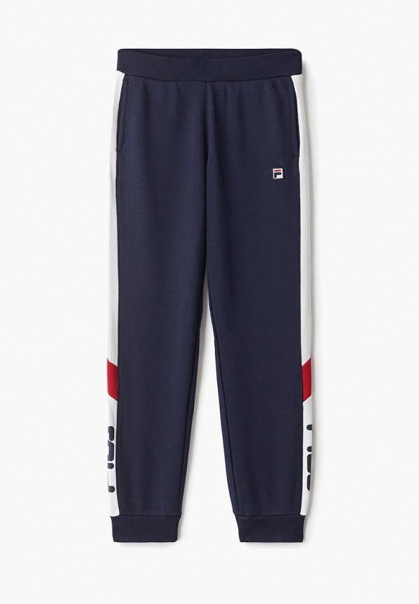 FILA | синий Синие спортивные брюки FILA для девочек | Clouty