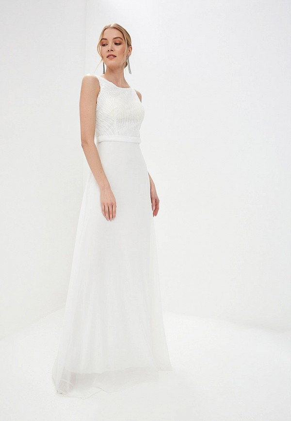Flam Mode | белый Белое платье Flam Mode | Clouty