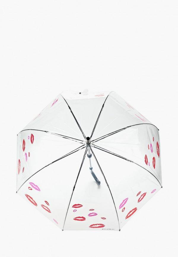 Flioraj | Женский прозрачный зонт трость Flioraj | Clouty