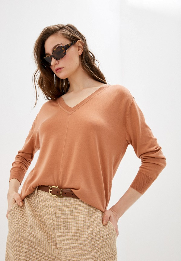 Forte Forte | Женский коричневый пуловер Forte Forte | Clouty