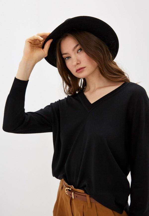 Forte Forte | Женский черный пуловер Forte Forte | Clouty