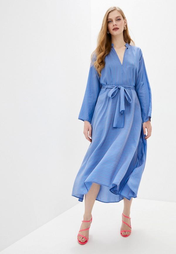 Forte Forte | голубой Голубое платье Forte Forte | Clouty