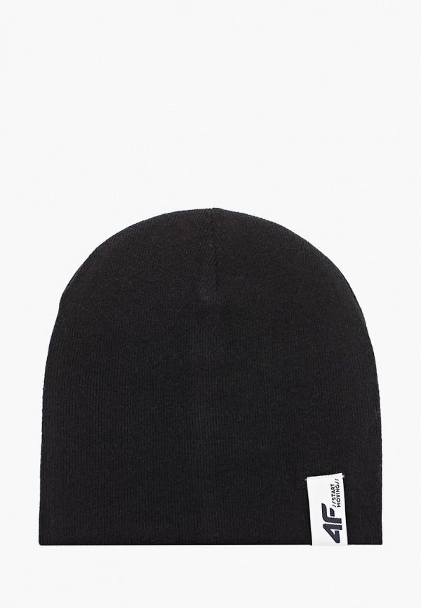 4F | черный Черная шапка 4F для мальчиков | Clouty
