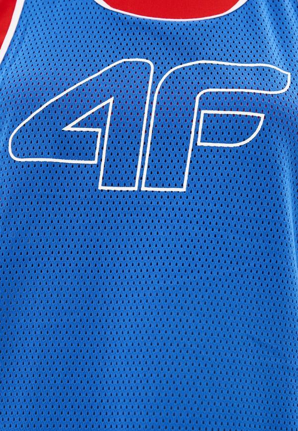 4F | синий Женская синяя спортивная майка 4F | Clouty
