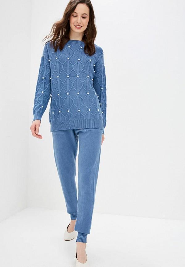 Fresh Cotton | Женский синий костюм Fresh Cotton | Clouty