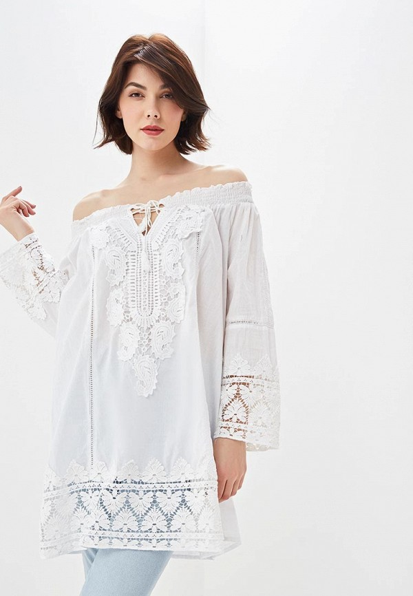 Fresh Cotton | белый Женское летнее белое платье Fresh Cotton | Clouty