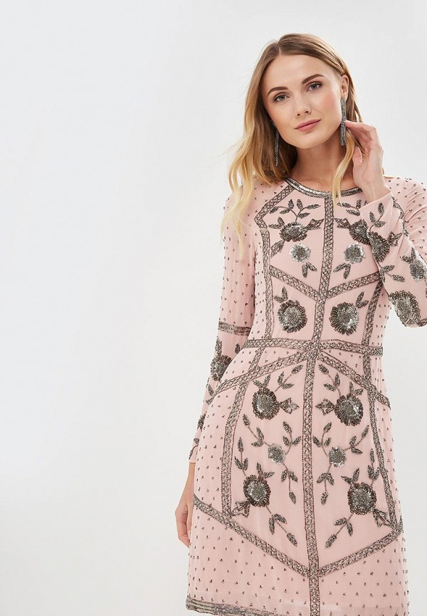 Frock And Frill | розовый Розовое платье Frock And Frill | Clouty