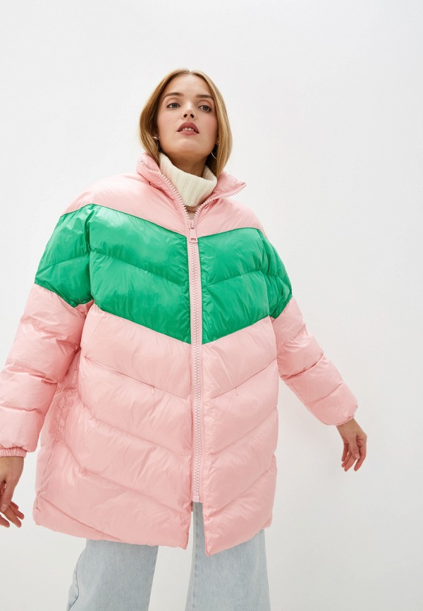 Front Street   розовый Женская зимняя розовая утепленная куртка Front Street   Clouty