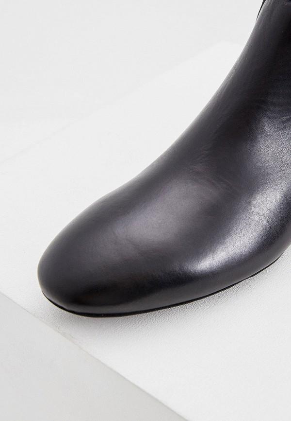 FURLA   черный Женские черные полусапоги FURLA искусственный материал   Clouty