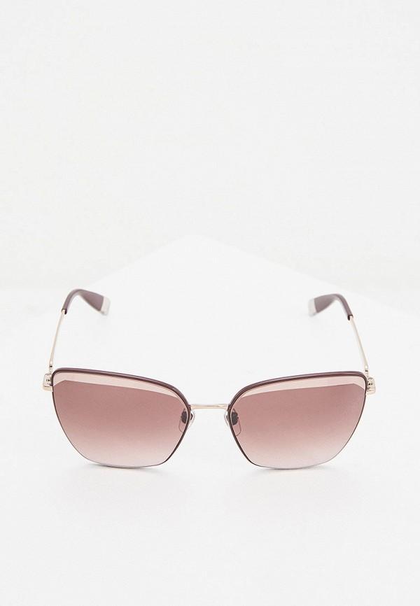 FURLA | розовый Женские летние розовые солнцезащитные очки FURLA | Clouty