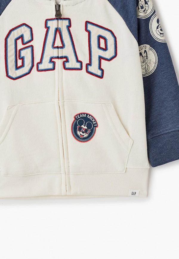 GAP | белый Белая толстовка GAP для мальчиков | Clouty