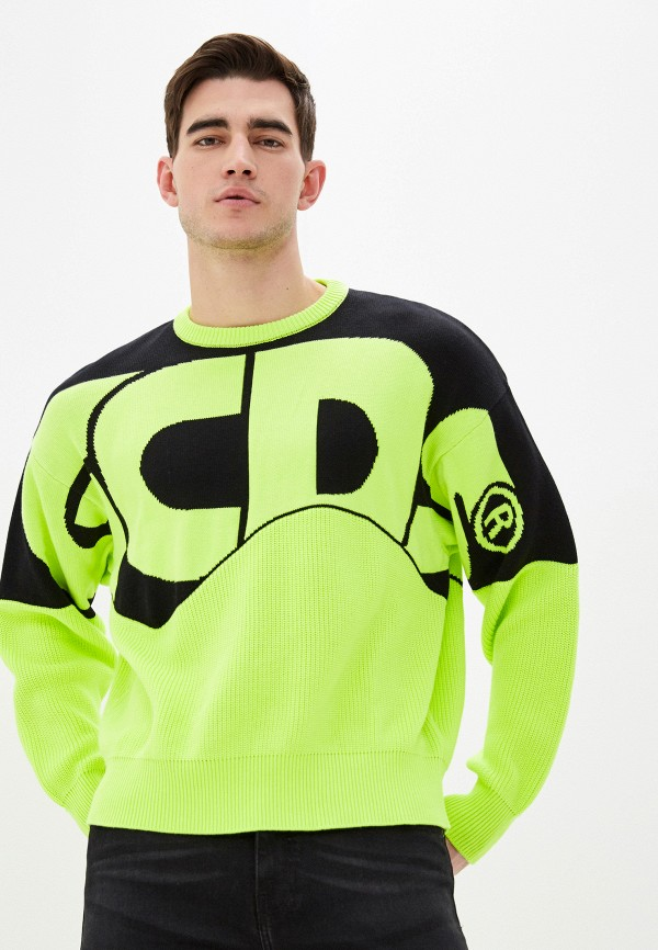 GCDS | Мужской зеленый джемпер GCDS | Clouty