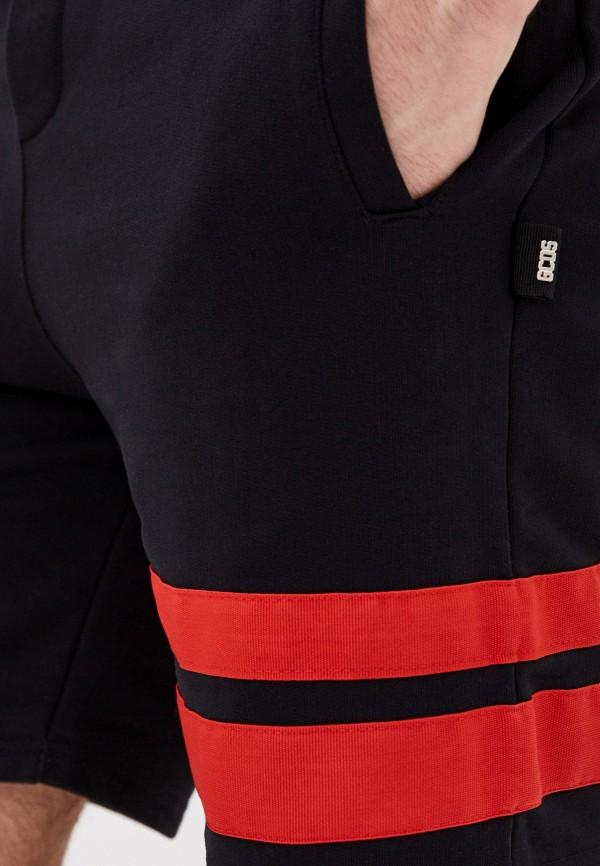 GCDS | черный Мужские черные спортивные шорты GCDS | Clouty