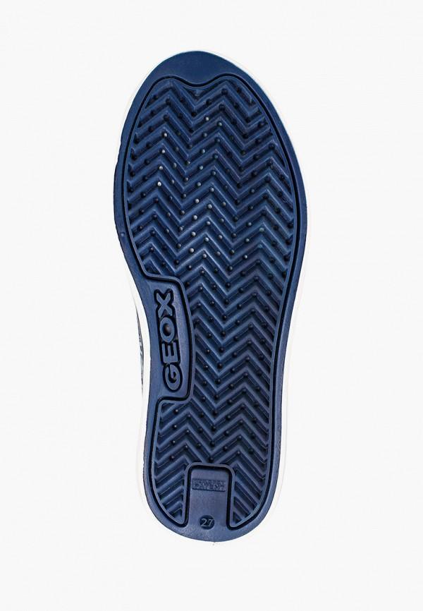 Geox   синий Синие кеды Geox искусственный материал для девочек   Clouty