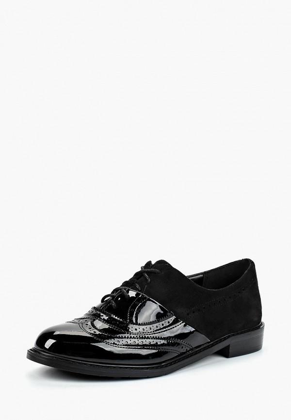 Gene | черный Женские черные ботинки Gene искусственный материал | Clouty