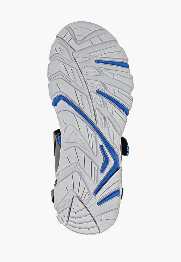Gioseppo | серый Летние серые сандалии Gioseppo резина для мальчиков | Clouty